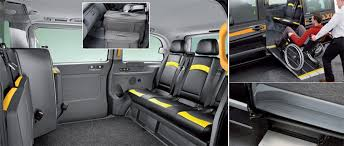 Car Upholstery London 6 Seater London Taxis Black Cab Company