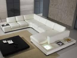Living Room Ideas With White Leather Sofa Living Rooms With White Leather Sofas Modern White Leather Sofa