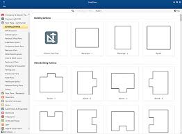 floor plan free floor plan templates draw floor plans easily with templates