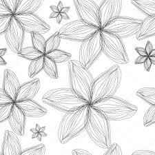 simple sketched flowers u2014 stock vector lyricsaima 103053774