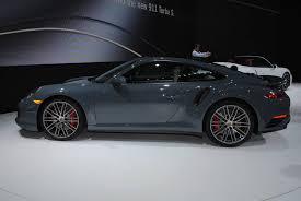 new porsche 911 turbo detroit 2016 porsche 911 turbo and turbo s gtspirit