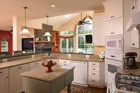 Remodeled Kitchens With Islands Brilliant Ideas For Kitchen Remodeling In Modern Style Kitchen