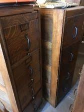 Vintage Oak Filing Cabinet Oak File Cabinet Ebay