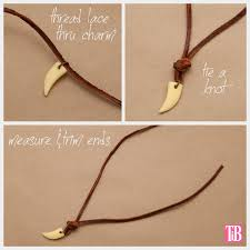 charm leather necklace images Leather necklace tutorial la necklace jpg
