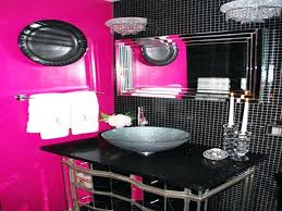 precious black and pink bathroom sets pink zebra print bathroom