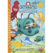octonauts rescue sticker book sticker books works