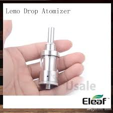Eleaf Lemo Drop Rdta Rebuildable Atomizer 2 7ml ismoka eleaf lemo drop rebuildable atomizer kit 2 7ml e cigarette