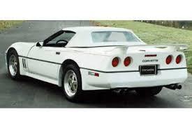 c4 corvette mods c4 corvette 1984 1996 aci collector wing corvette mods