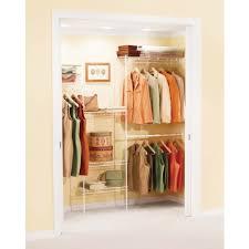 Organizer Rubbermaid Closet Pantry Shelving Kids Rubbermaid 3 5ft Free Slide Closet Organizer 3d1000wht