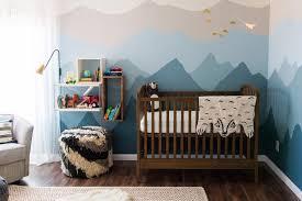 chambre montagne chambre bebe montagne déco