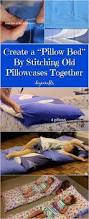 best 25 pillow beds ideas on pinterest sewing ideas for