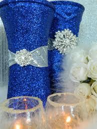 royal blue and silver wedding decor wedding decor theme