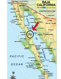 Baja Mexico Map by Fishing Packages U2013 Baja Becky