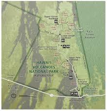 Map Of Hawaii Big Island Hawaii Volcanoes Maps Npmaps Com Just Free Maps Period
