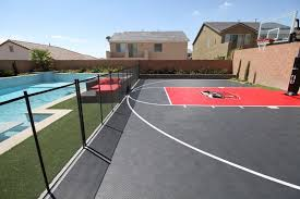 Backyard Landscaping Las Vegas Snapsports Las Vegas Backyard Basketball Court Contemporary