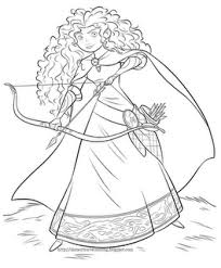Free Disney S Brave Coloring Pages Mommies With Cents Disney Brave Coloring Pages