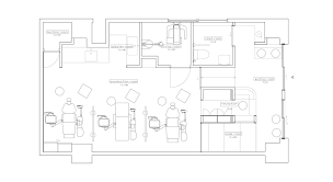 dental clinic floor plan design gallery of dental clinic with coved ceiling hiroki tominaga 7