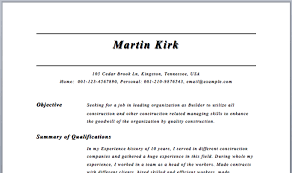 Easy Resume Builder Resume Builder Examples Sample Resume Output Chic Idea Resume