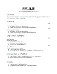free simple resume template simple resume templates templates you can for free simple