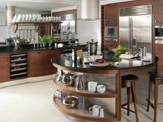Curved Island Kitchen Designs Islas De Cocina De Formas Curvas Arredi Pinterest Kitchens