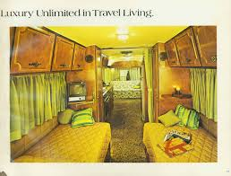 Airstream Travel Trailers Floor Plans by 1972 Holiday Rambler Camper Interioris This Is The One We Just Got