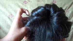rolling hair style youtube