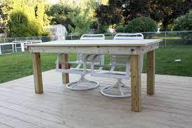 build wooden garden table how to build wood outdoor furniture