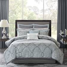 Madison Park Bedding Madison Park Anouk Jacquard 12 Piece Complete Bed Set Free