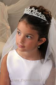 communion headpieces communion tiara with veil bridal wedding veils