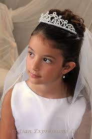 communion headpieces communion tiara with veil bridal wedding veils