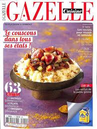 gazelle cuisine magazine gazelle cuisine en commande sur zepresse fr