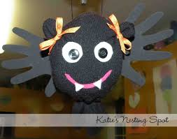 Bat Halloween Craft by Katie U0027s Nesting Spot October 2010