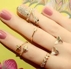 beautiful hand rings images Beautiful hands of girl with full of gorgeous rings ideas4u png