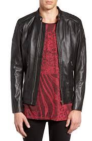 mens black leather motorcycle jacket best leather jackets for men in 2017 top mens leather moto coats