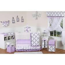 purple crib bedding from buy buy baby