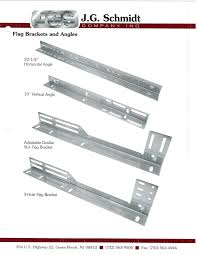 Flag Bracket J G Schmidt Garage Door Parts Door Kits J G Schmidt