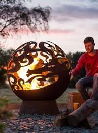 Sphere Fire Pit by Fire Sphere Globe Fire Pit Fireball Exclusive Dragon Design 6mm