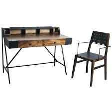 metal bureau bureau metal et bois bureau bois et mactal bureau bois metal bureau