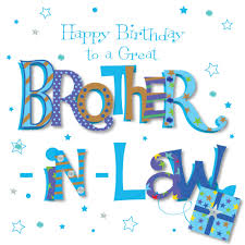 great brother in law happy birthday greeting card cards love kates