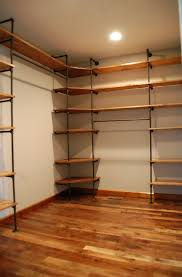 Shelving For Closets by Wood Closet Shelving Kits Home Design Ideas