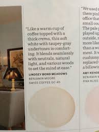 benjamin moore swiss coffee paint pix a can of paint pinterest