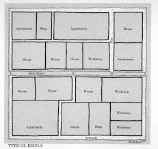 Roman Floor Plan by Geography 380 Maps