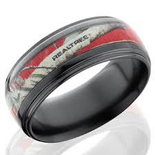 realtree wedding bands lashbrook black zirconium half 4mm groove realtree ap