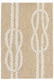 Outdoor Rug Square Square Knots Neutral Indoor Outdoor Rug Cottage Home