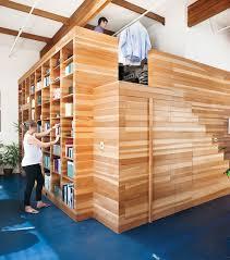 creative modern california loft design a box within a box