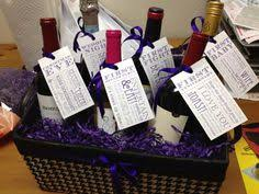 bridal shower wine basket diy bridal shower gift celebrating all the couples