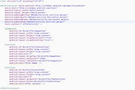 matrix layout xml view java add a xml layout multiple into another xml with scrollview