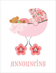 baby girl announcements birth announcements girl birth announcements baby announcements
