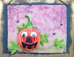 Youtube Halloween Crafts - kids pumpkin craft for fall or halloween youtube