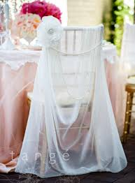 fancy chair covers lovely ivory chiffon chiavari chair cover with pearl brooch flower